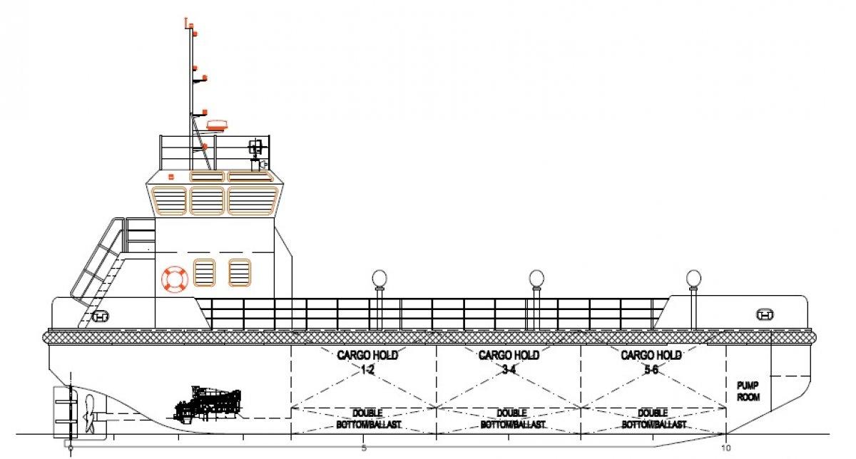24m Fuel Barge