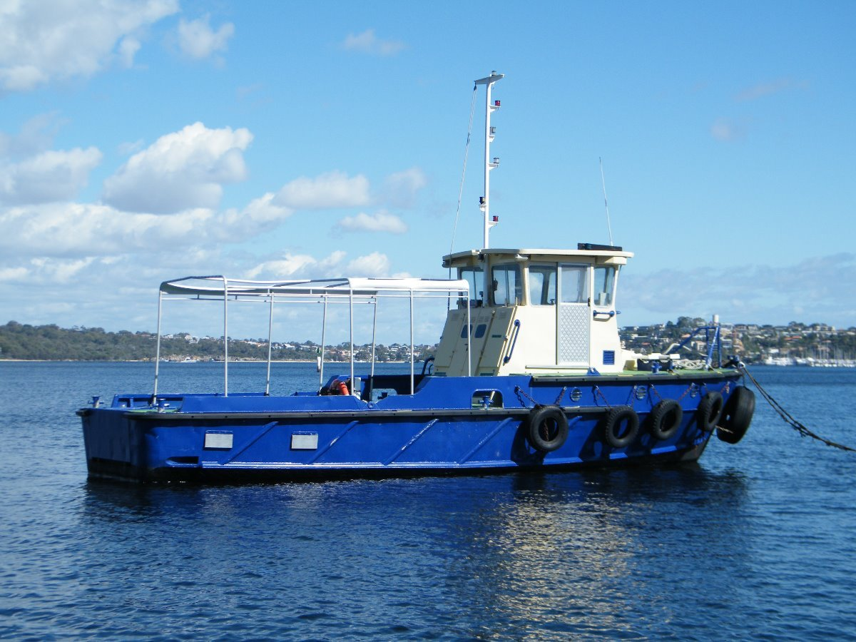 Navy Surplus Vessel Workboat Tug