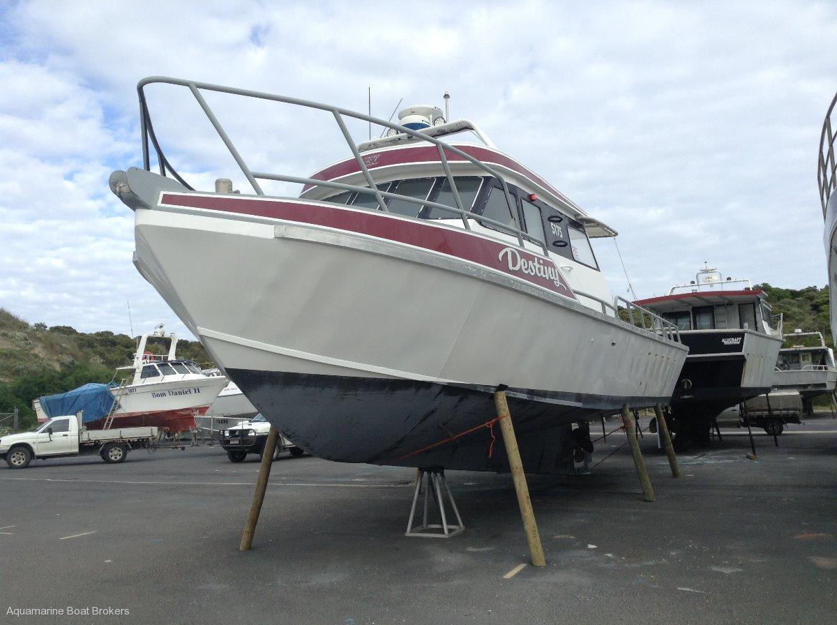 Alufarm Aluminium Planing Hull Cray/Fishing Vessel