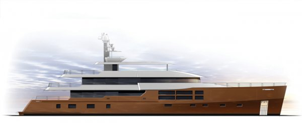 Expedition style 55m (180ft) Superyacht