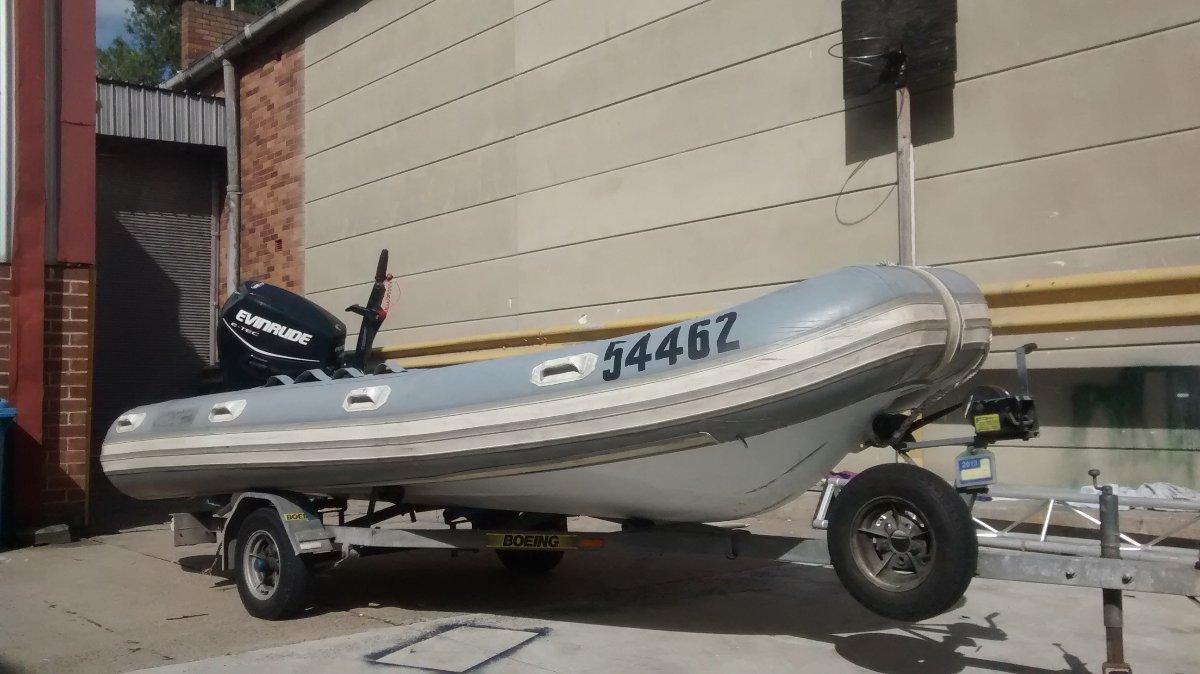 Aquapro Dmor 1401 4,2 meters RHIB