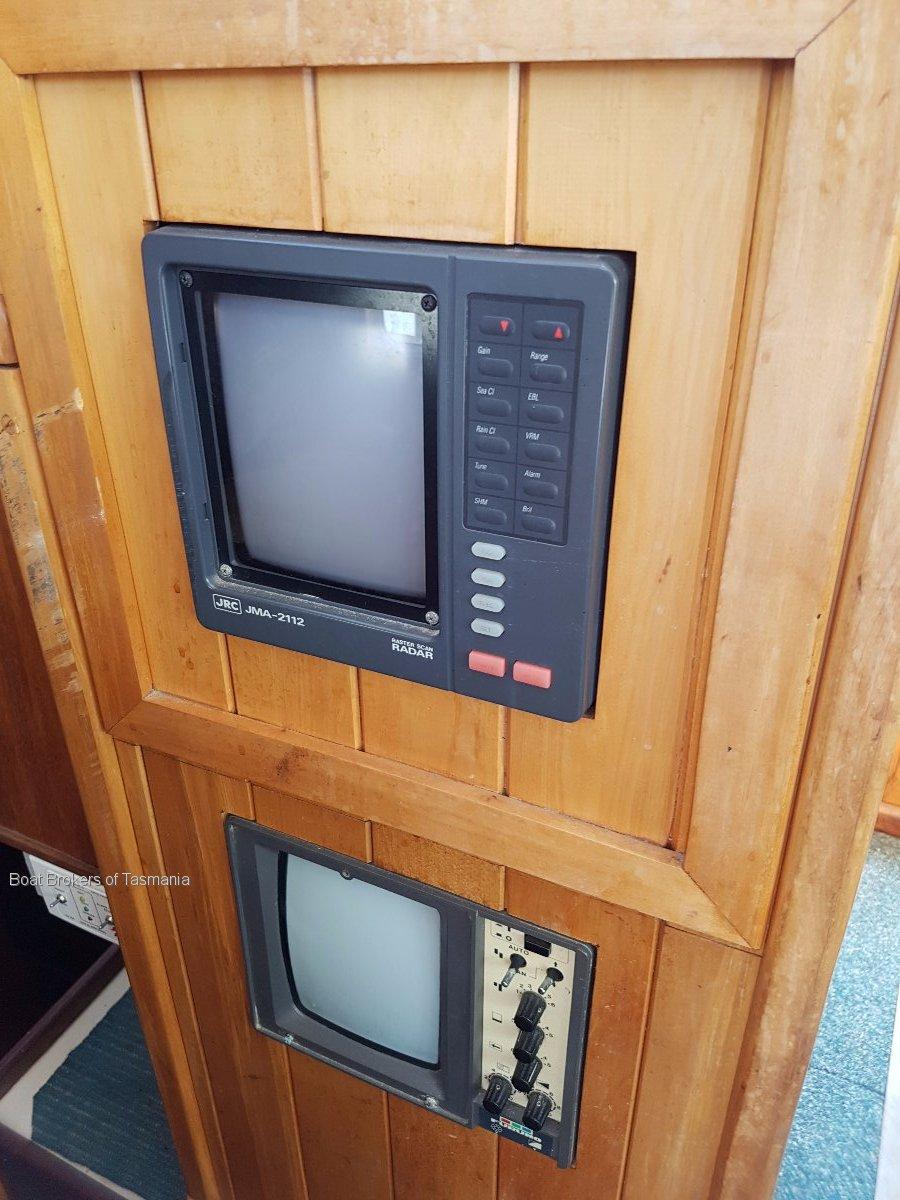 Custom Timber 35' Motorsailer