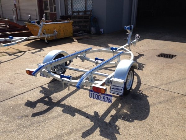 Fully Galvanised Dinghy Boat Trailer