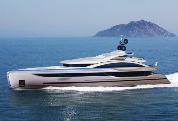 New Long-Range Luxury 58m (190ft) Motoryacht