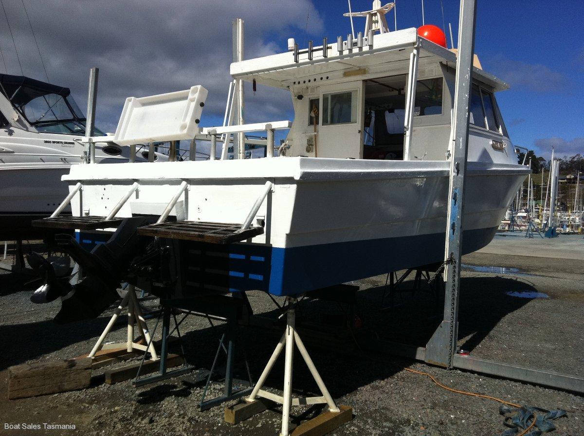 "Fraser 27 Family Fishing Boat ""Wozza C"""