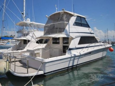 Riviera 48 Platinum Enclosed Flybridge
