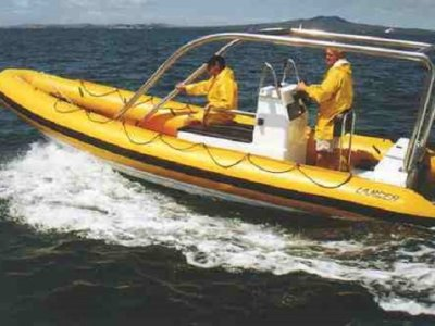 New Lancer RC 650 Rib Deep Vee - Cabin/Console