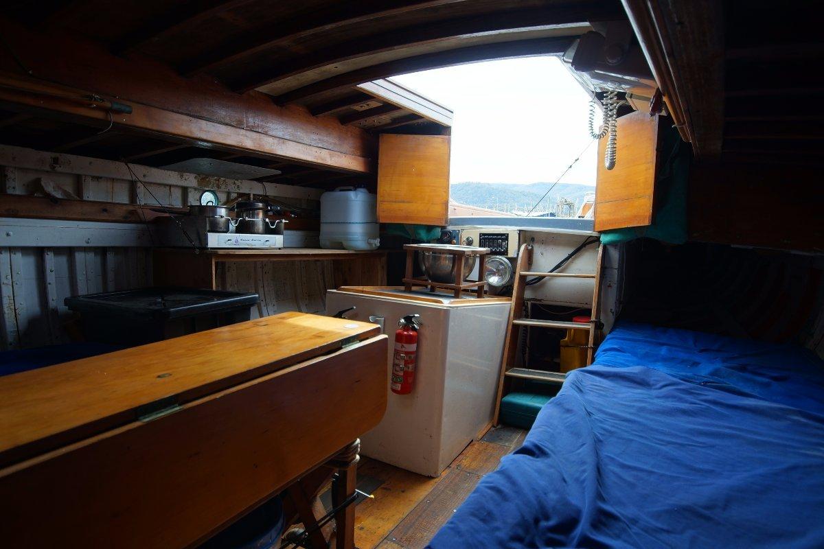"Tasmanian One Design sloop ""Pandora"""