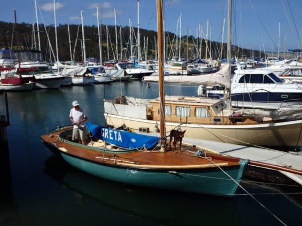 """Couta Boat 23 """"Greta"""" Sail No. C151"""