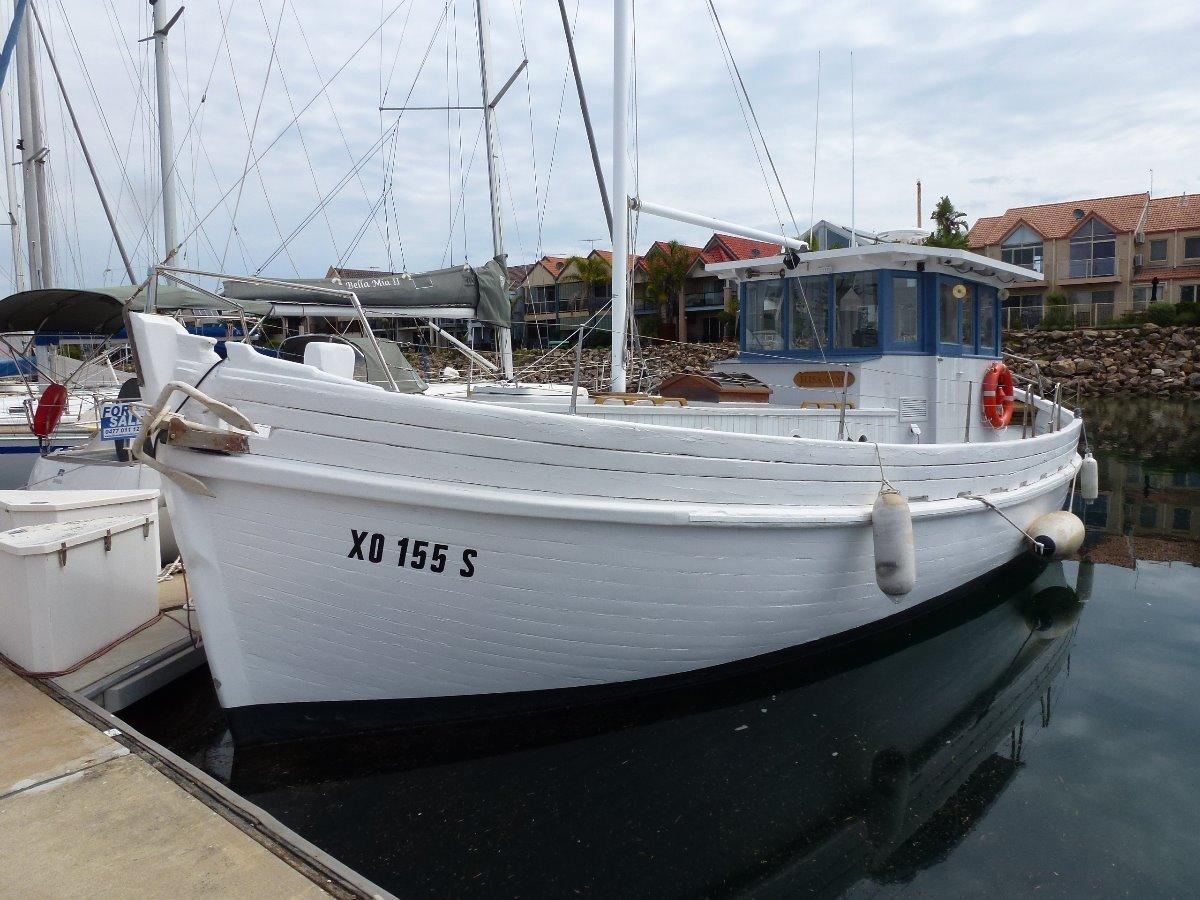 Custom Timber Ex Cray Boat