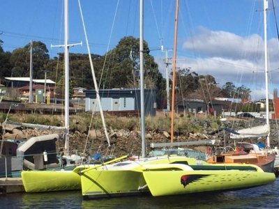 "Grainger 920 Trimaran ""Slick Willie"""
