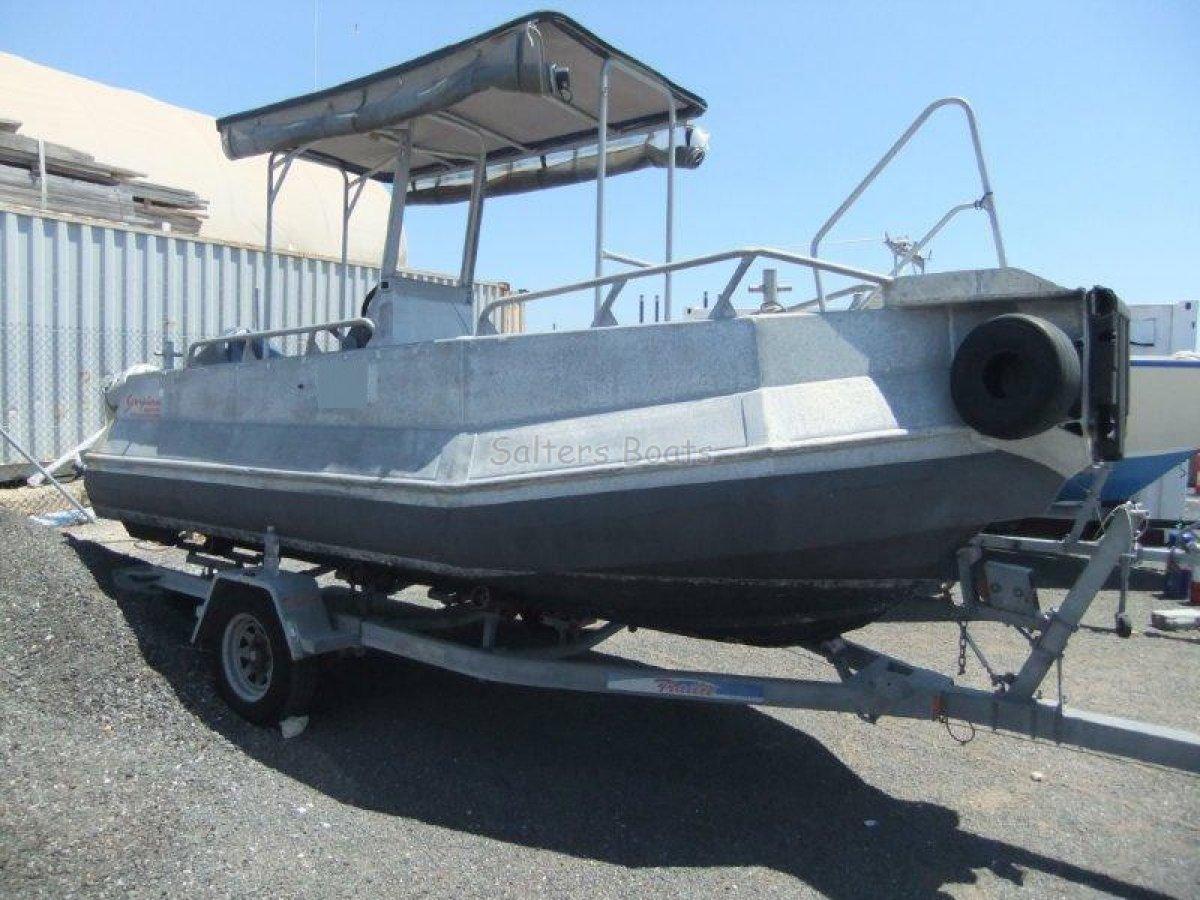 Alutech Centre Console Workboat (Scorpion)