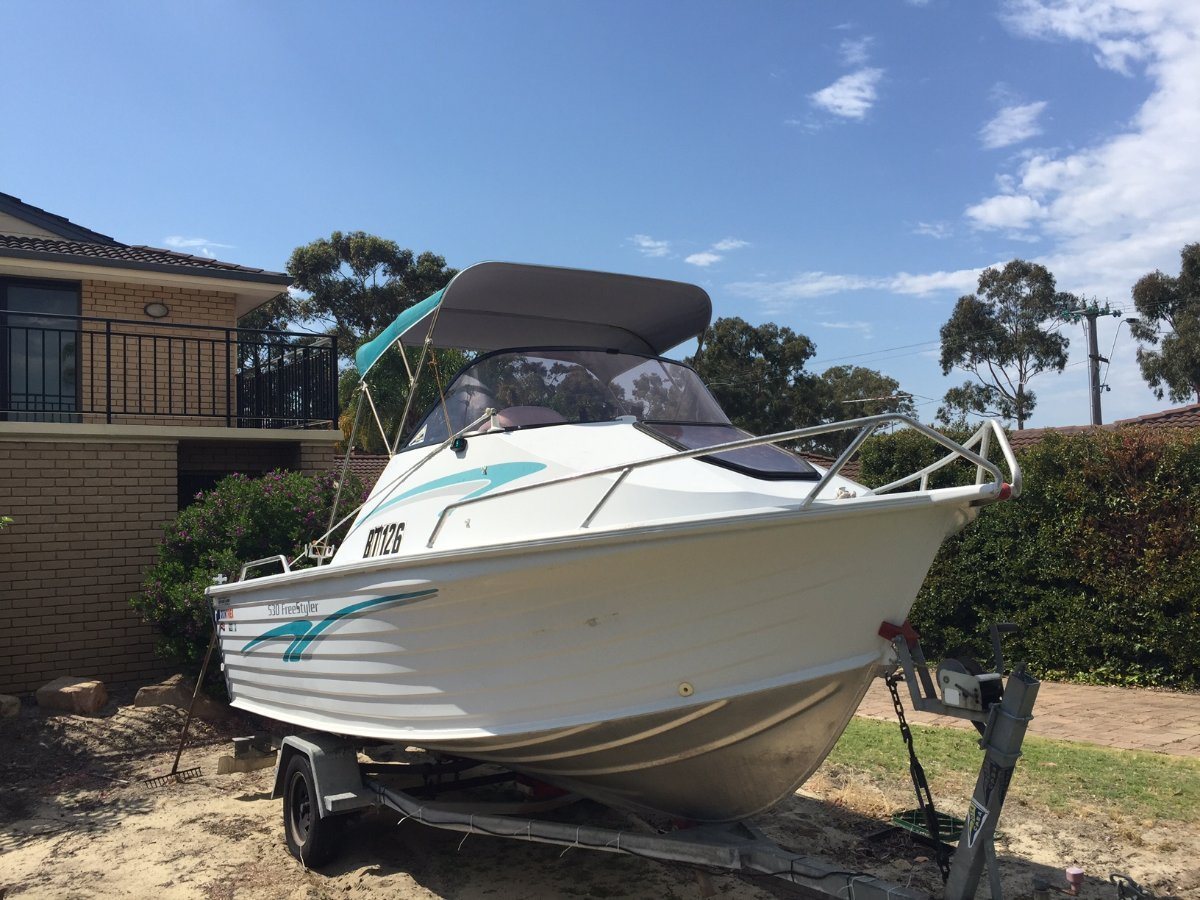 Quintrex 530 Freestyle 2001 Model With Yamaha 2 Stroke 90Hp in Good Working Order And Condition