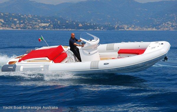 New Pirelli Pzero 880 Sport Super Yacht Tenders