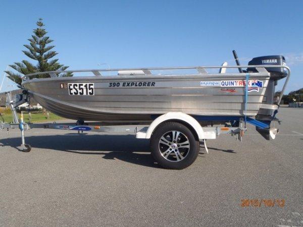 Quintrex 390 Explorer CARTOPPER, DINGHY, OPEN BOAT, PUNT