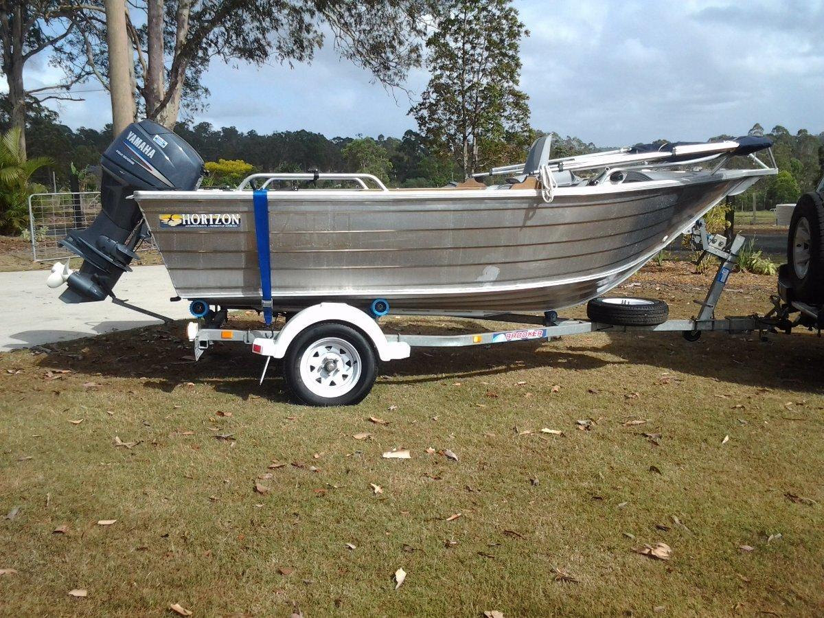 Horizon Aluminium Boats 415 Safari