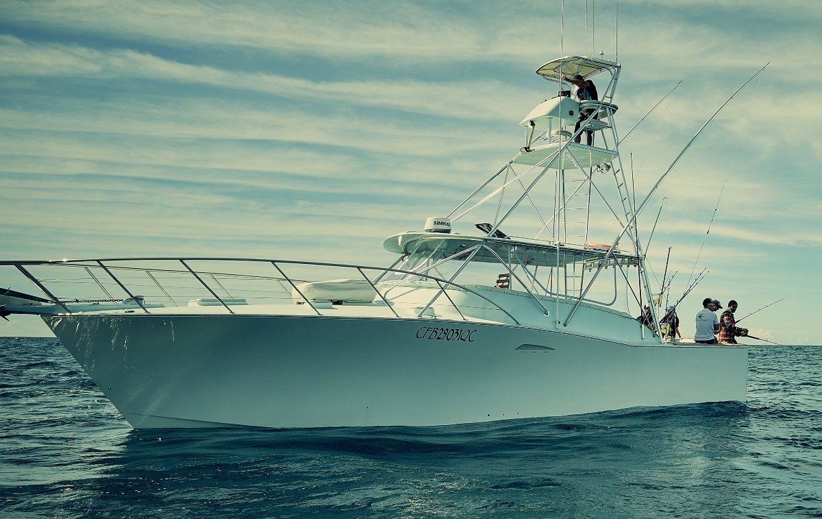 Dick Ward 41' Express Gamefisher