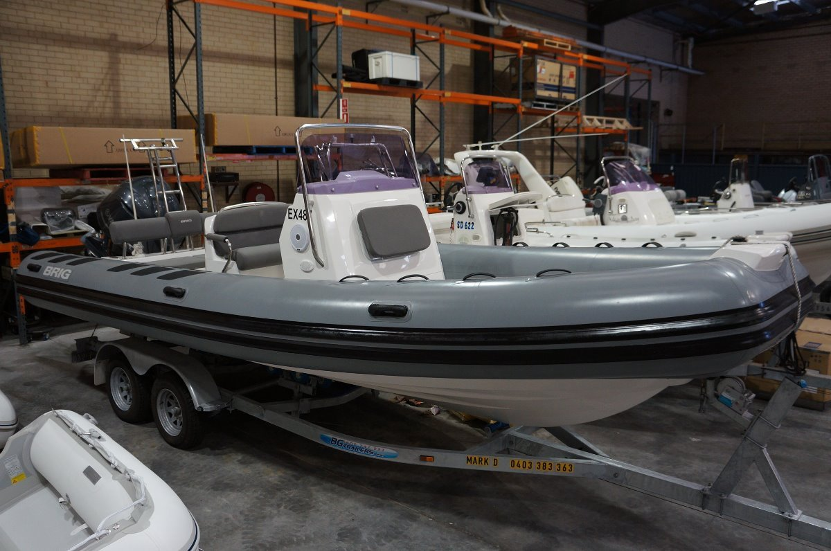 Brig Navigator 700 Rigid Inflatable tender
