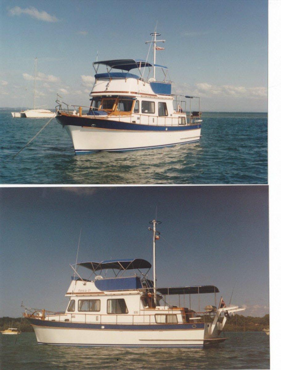 Blue Seas Flybridge Blue Seas 36