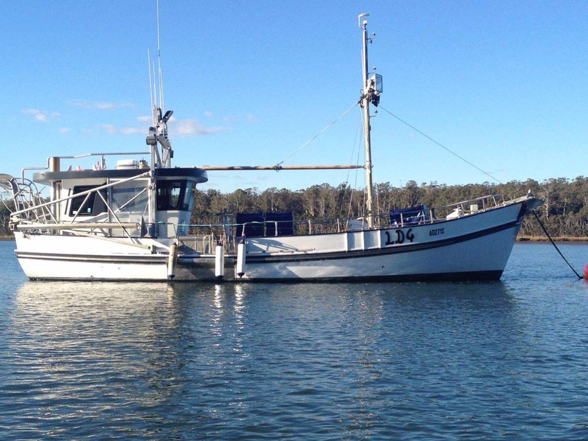 14m Refurbished Celery Top Pine Workboat or Cruise