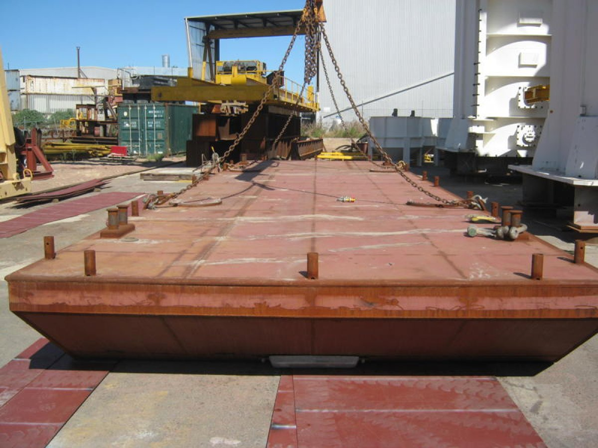 12m x 7m Modular Barge System For Sale