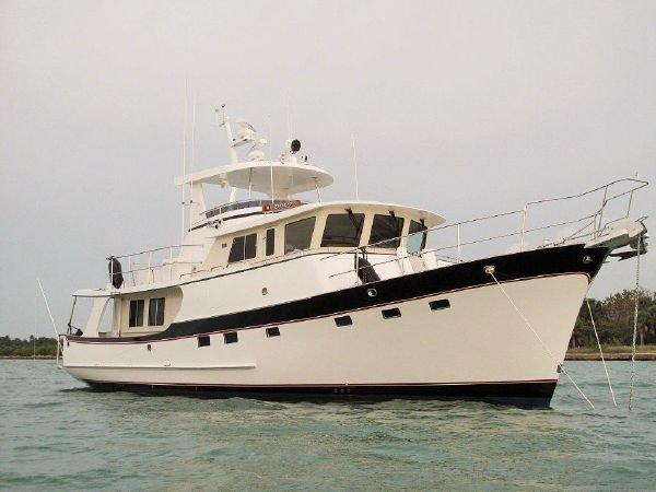 Kadey Krogen 58 Three Cabin Hard Top Trawler