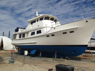 Kadey Krogen 55 Expedition Trawler