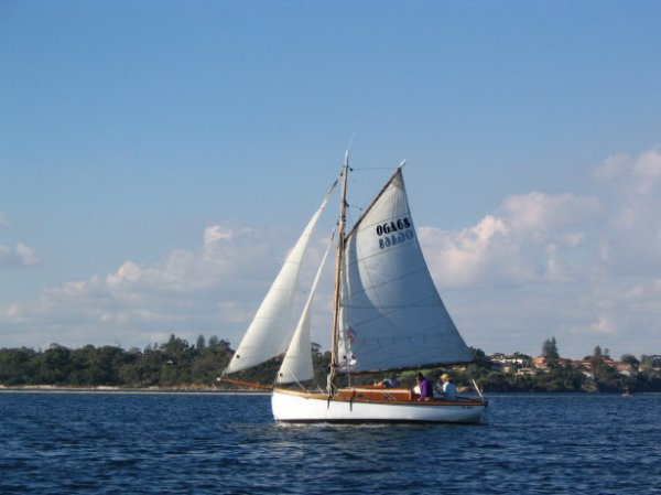Timber, 26' Classic Gaff Cutter Cruiser