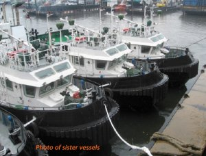 16m 10TBP Harbour Tug For Sale