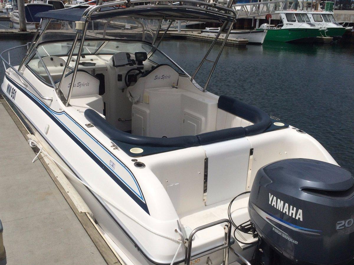Sea Spirit Sports Cruiser 7.3 M