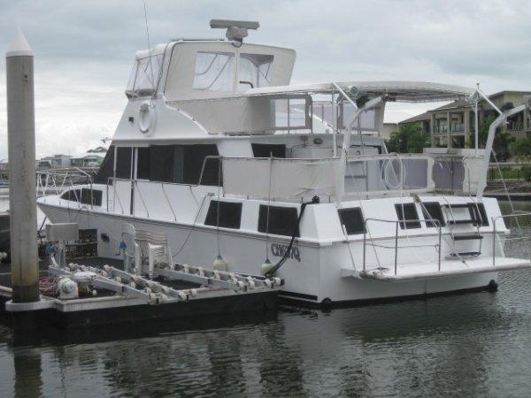 Clarke 48' Aft Cabin Cruiser