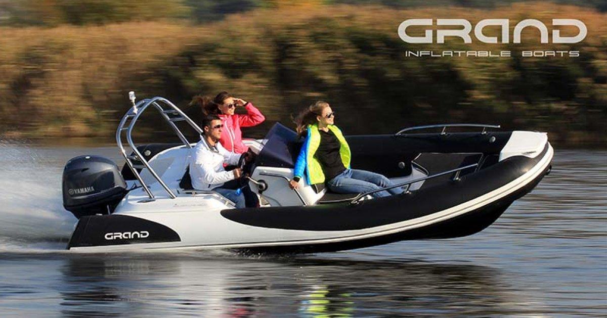 Grand Golden Line Hypalon Cruiser 5.0m Deluxe