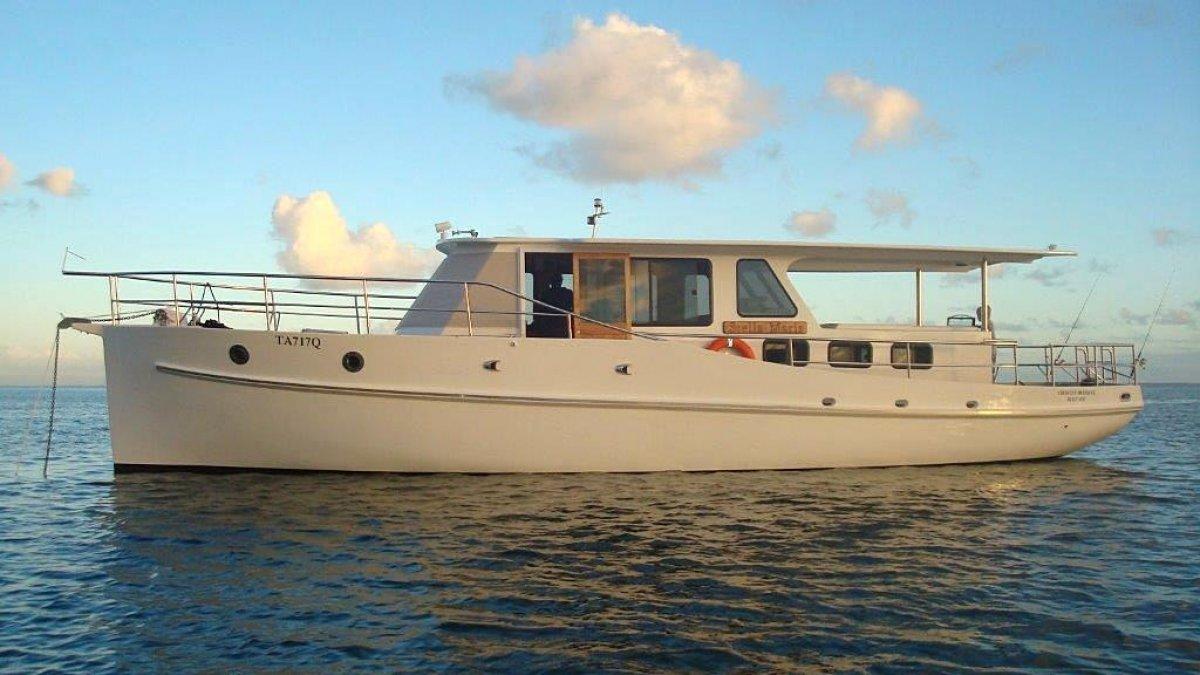 C. E Crowley 48 Timber Classic Moreton Bay Cruiser