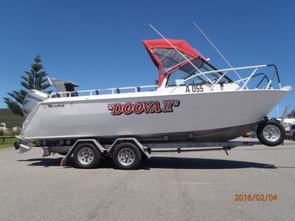 Westerberg Eclipse PLATE ALLOY RUNABOUT