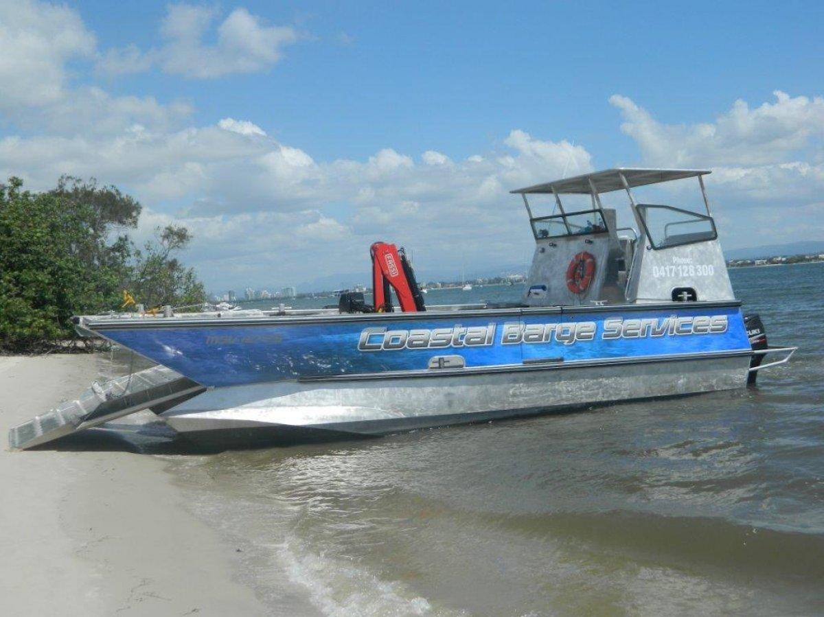 Alumarine Cat Barge