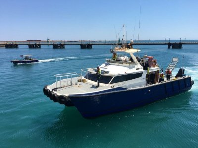 Gavin Mair Aluminium Catamaran