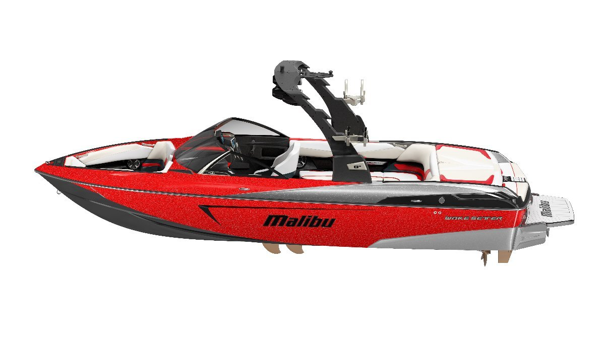 Malibu Wakesetter 23 Lsv + Indmar Ford Monsoon 410 6.2L Marine Engine