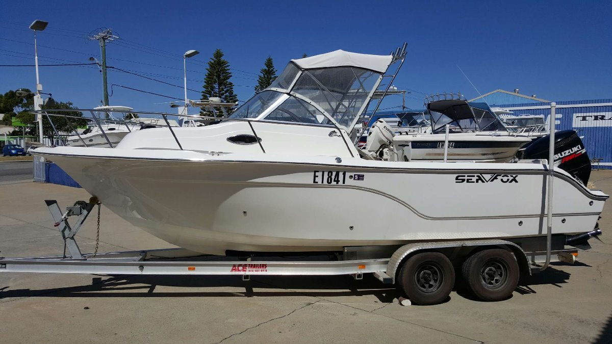 Sea Fox 236 Walkaround - HUGE PRICE REDUCTION!!!