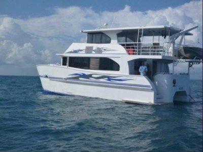 Custom Aluminium Catamaran