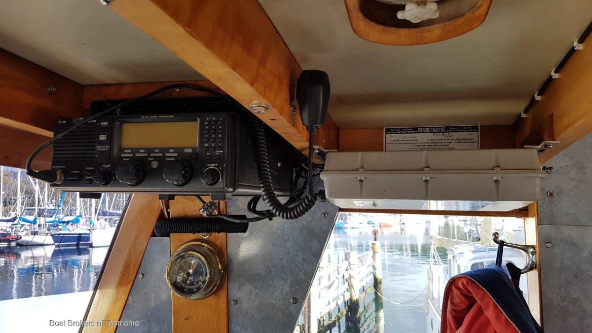 Tucker 42' Timber Motor Cruiser