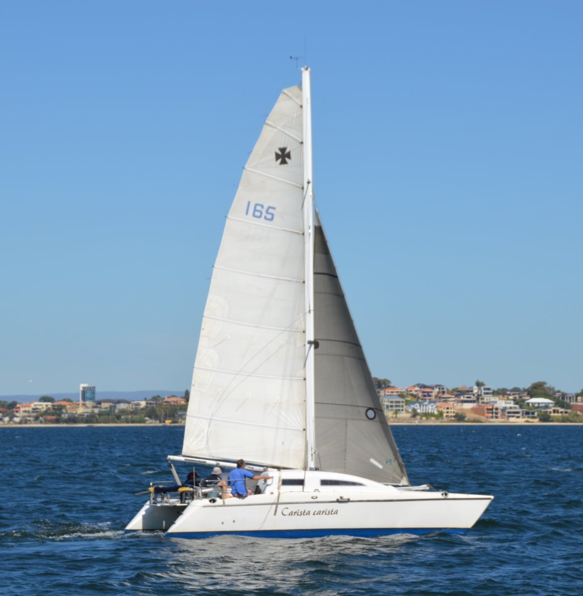 Crowther Shockwave 30' Catamaran
