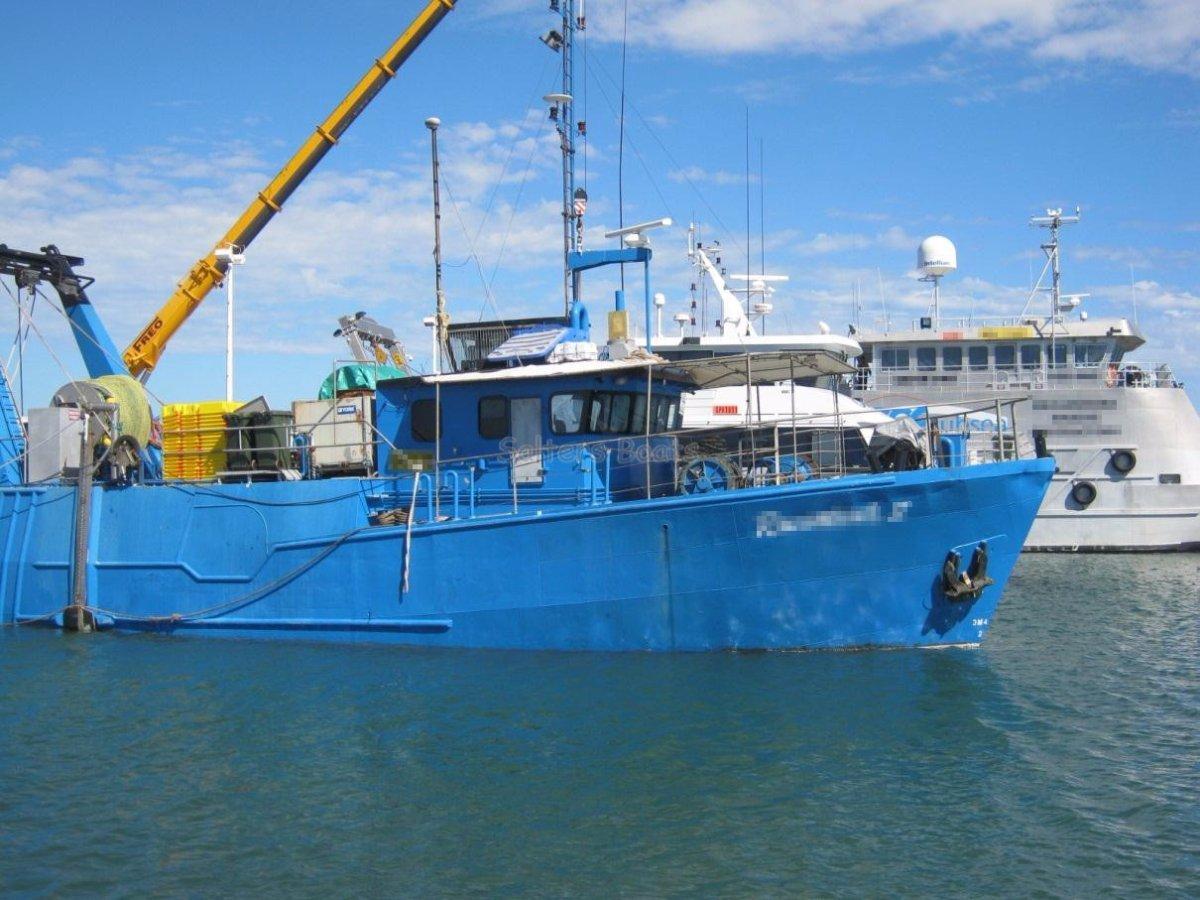 Ocean Shipyards Stern Trawler 23.5m x 6.75m