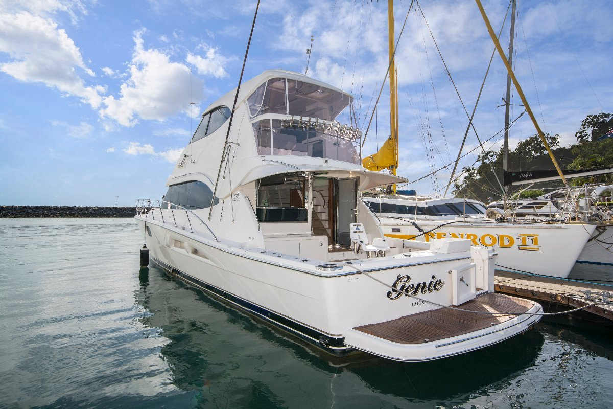Riviera 56 Enclosed Flybridge PLATINUM SOLD ANOTHER WANTED
