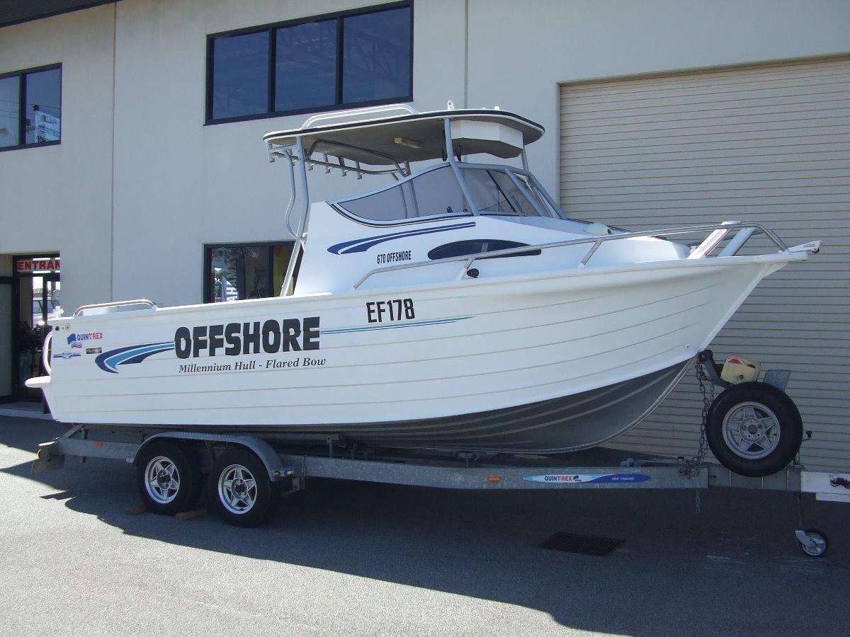 Quintrex 670 Offshore Hard Top