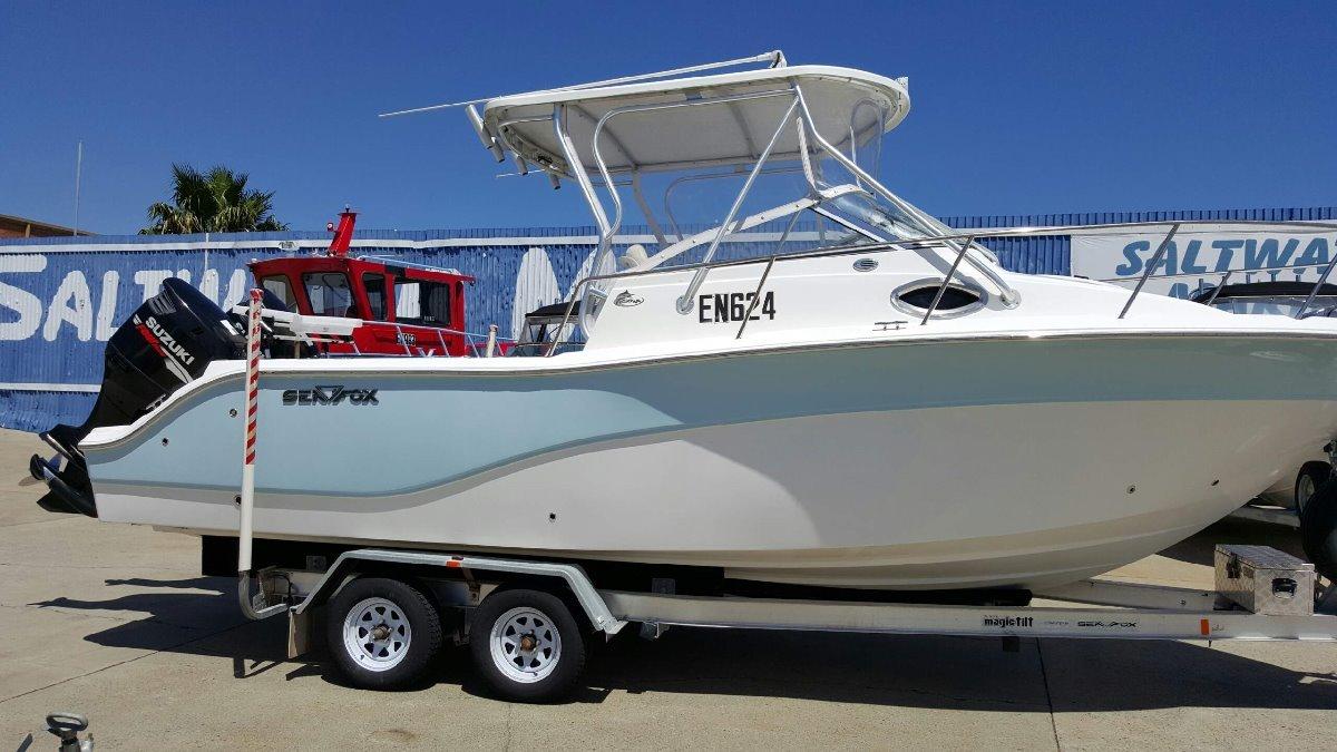 Sea Fox 256 Walkaround - $10,000 PRICE REDUCTION!!!