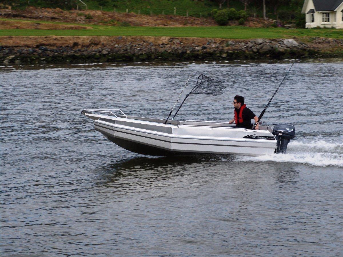 Stabicraft 1410 Explorer + Yamaha 25hp Four Stroke Outboard Motor
