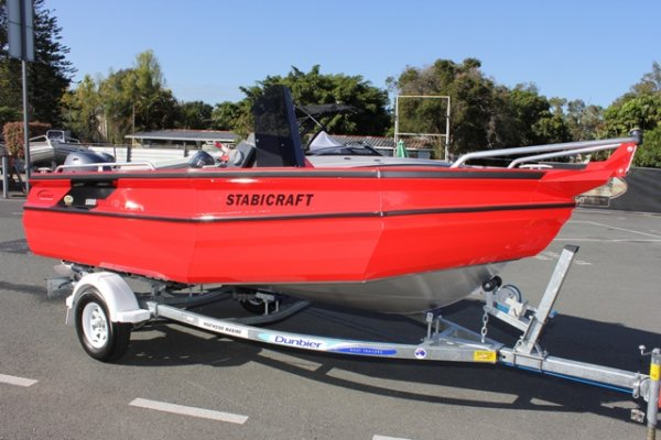 Stabicraft 1600 Frontier + Yamaha 60hp Four Stroke Outboard Motor