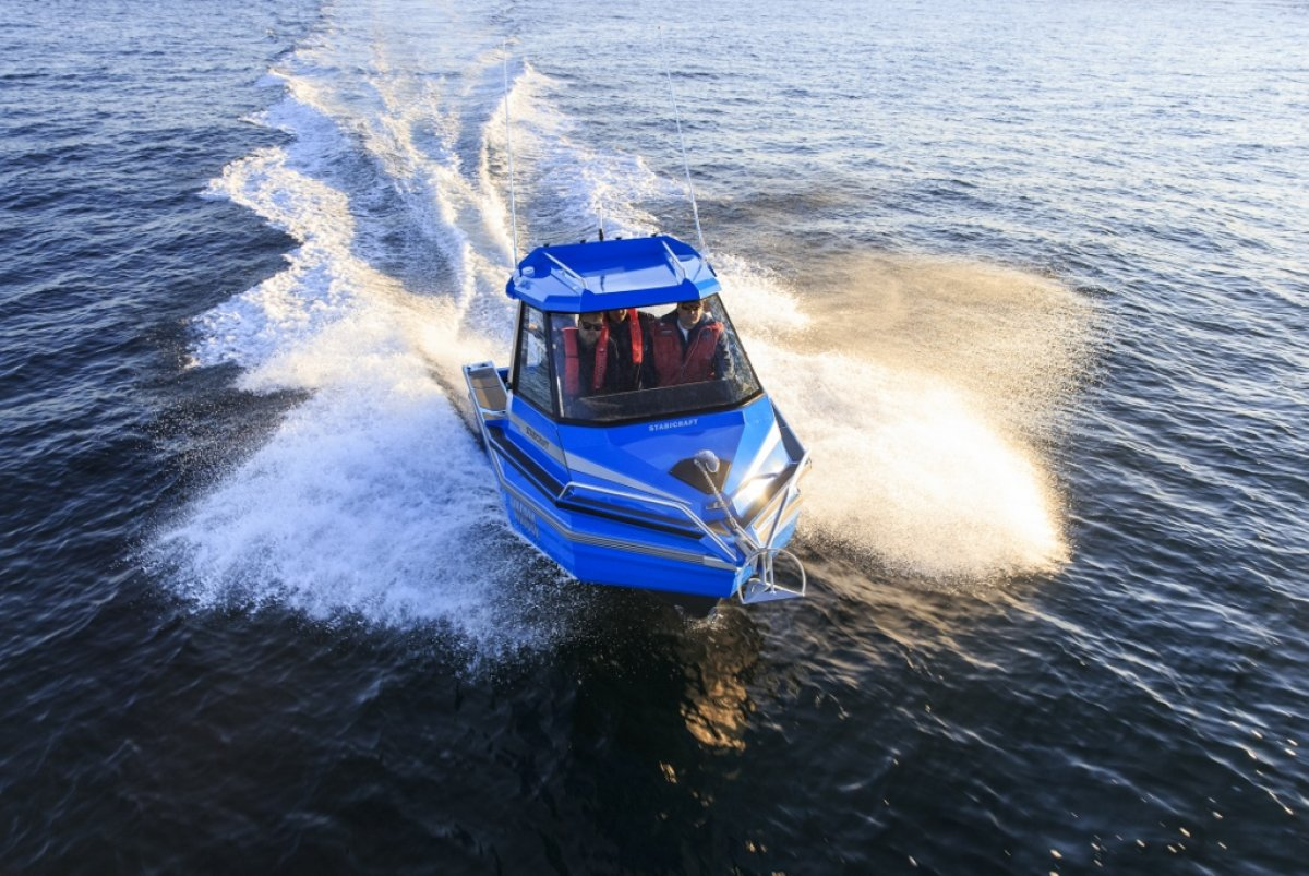 Stabicraft 1850 Supercab + Yamaha 115hp Four Stroke Outboard Motor