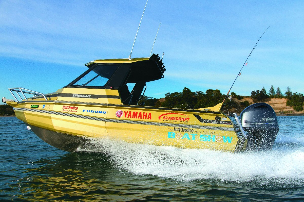 Stabicraft 2100 Supercab + Yamaha 150hp Four Stroke Outboard Motor