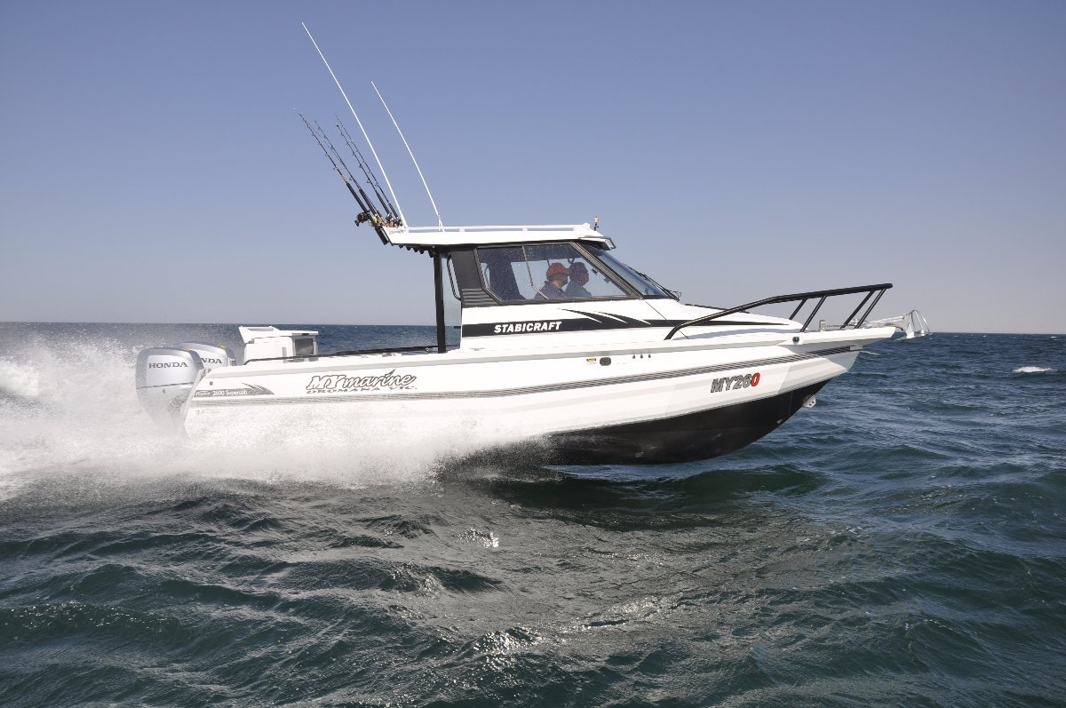 Stabicraft 2600 Supercab + Yamaha 250hp Four Stroke Outboard Motor